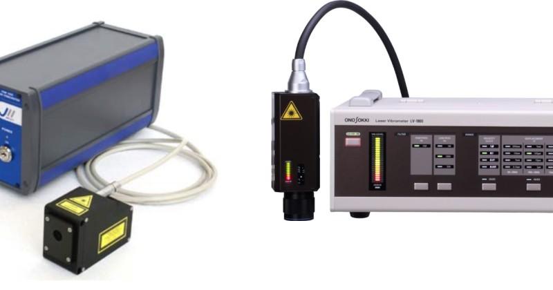 kontaktlös laservibrometer