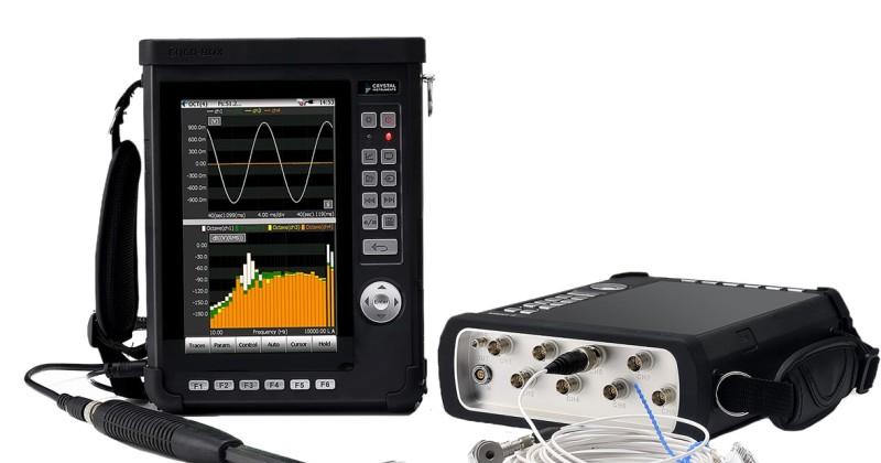 Vibrationsanalysator vibrationsmätning